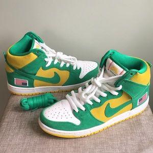 Nike Dunk High Pro SB 'Oakland Athletics'